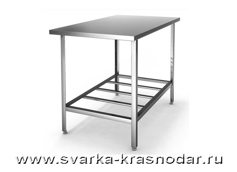 Столы производственные из нержавейки и алюминия