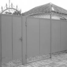 Изготовление и установка металлических ворот, калиток | Сварочные работы в Краснодаре